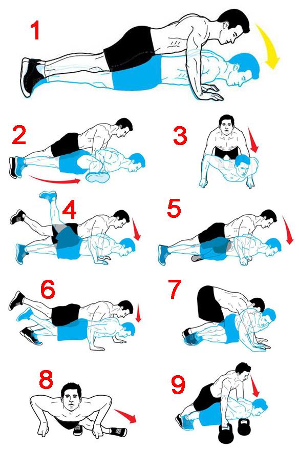 push up gabung